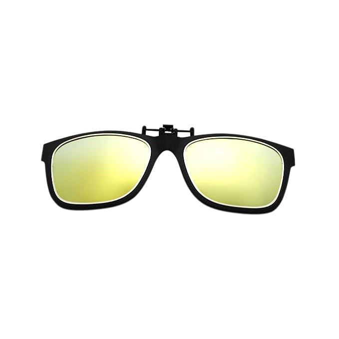 1 opinioni per Lenti occhiali da sole sportivi, modello Wayfarer, in vetro polarizzato, clip