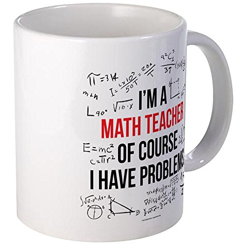 CafePress Teacher Problems Unique Coffee