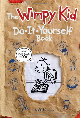 Do-It-Yourself Book - Book  of the Diary of a Wimpy Kid
