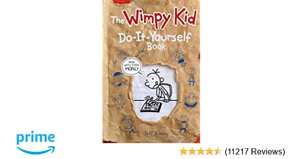 Wimpy kid do it yourself book revised and expanded edition diary wimpy kid do it yourself book revised and expanded edition diary of a wimpy kid jeff kinney 8601400343142 amazon books solutioingenieria Choice Image