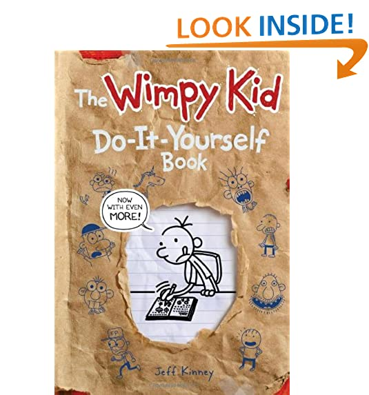 Do it yourself amazon wimpy kid do it yourself book revised and expanded edition diary of a wimpy kid solutioingenieria Choice Image