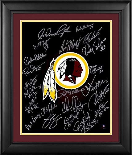 Washington Redskins Framed Autographed Legends 16