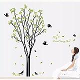 Own Art Designs Birds Tree Mural Art Vinyl Wall Sticker Decals Removable Room Home Decor, Inspirational Wall