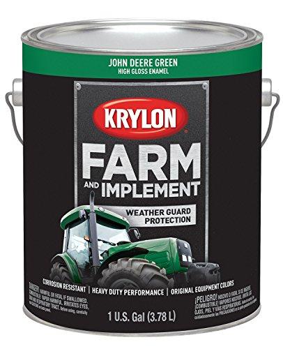 Krylon 1966 Krylon Farm & Implement Paints John Deere Green 128 oz. Gallon w/Solvent Base Krylon Farm & Implement Paints