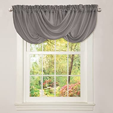 Lush Decor Lucia Valance, Gray