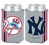 New York Yankees 2-PACK CAN Retro THROWBACK Koozie Neoprene Holder Cooler Coolie Baseball