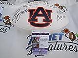 Sammie Coates Signed Auburn Tigers Logo Football w/ War Eagle JSA COA