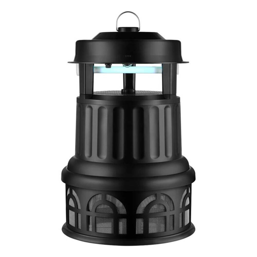 Outdoor Mosquito Killer Lamp, IPX4 Waterproof Large Capacity Bug Zapper Lamp, European Design No Radiation No Chemicals Insect Killer Lamp with Bracket for Garden, Courtyard, Park
