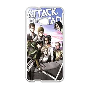 HTC One M7 Phone Case Attack On Titan W9B36033