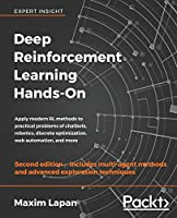 Deep Reinforcement Learning Hands-On, 2nd Edition Front Cover