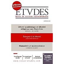 Etudes - spécial Education: n°4245 - janvier 2018 (BAYS.ETUDES)