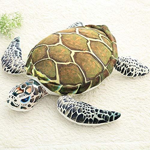 (Yellow) - Lazada Ocean Plush Sea Turtles Stuffed Tortoise Toys Animal Pillow Gift Cushion 38cm ()