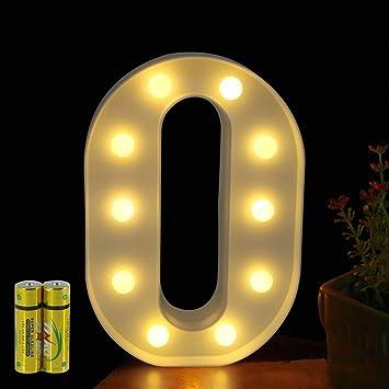 Amazon.com: Funrui - Señal con luces LED para cartel de 26 ...