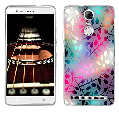 Lenovo K5 Note Case Cover, FUBAODA [Impact Resistant][Shockproof][Slim Thin] Light Soft Rubber Gel TPU Silicone Printed Pattern Protective Phone Back Case Shell Bumper for Lenovo Vibe K5 Note