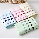 "Bamboo fiber Hand Towels, Easy Care, Bamboo Fiber for Maximum Softness and Absorbency 4-pack 4 Color ( 13"" X 30"")"