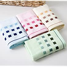 """Bamboo fiber Hand Towels, Easy Care, Bamboo Fiber for Maximum Softness and Absorbency 4-pack 4 Color ( 13"""" X 30"""")"""