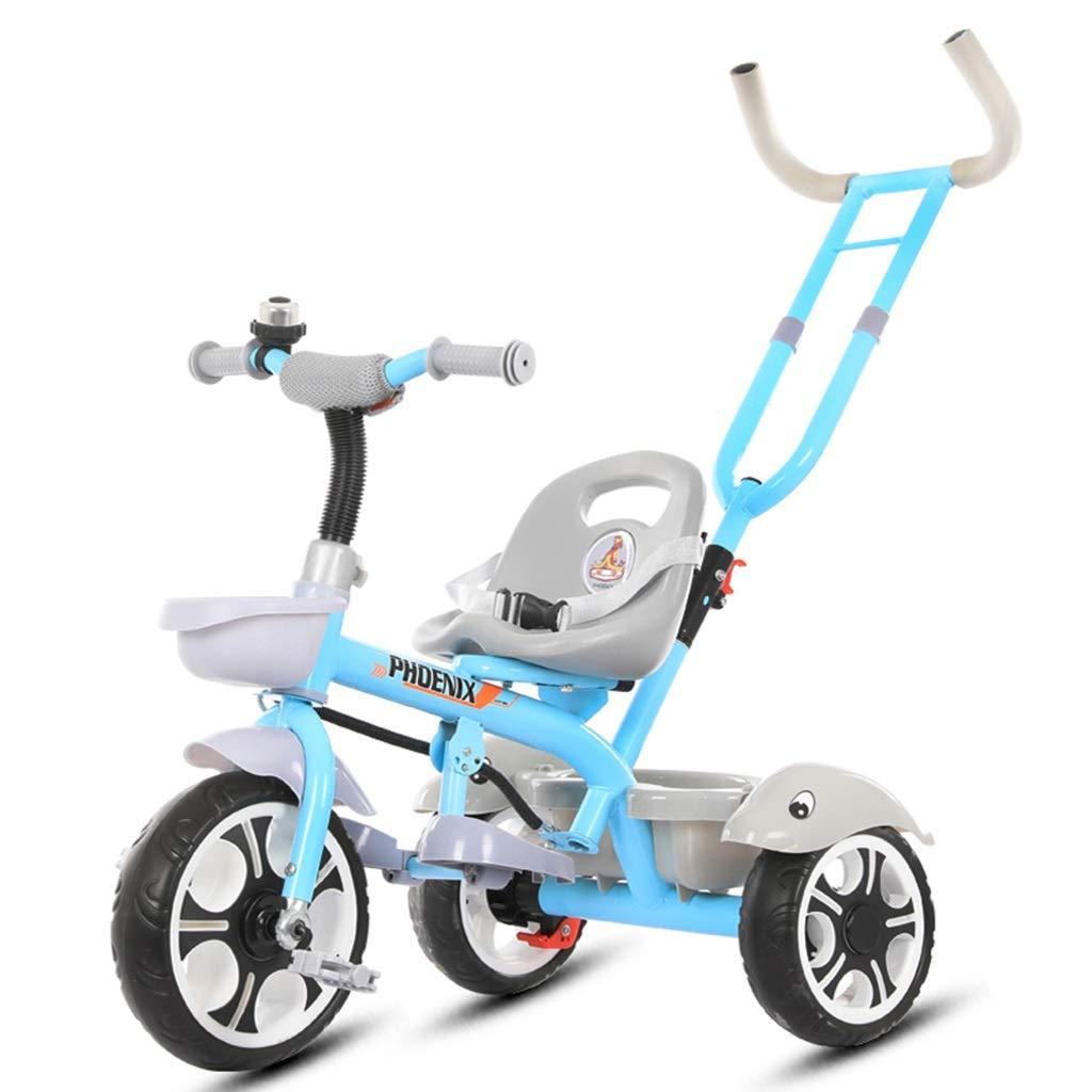 Bicicletas Eléctricas Triciclo para Niños Cochecito para Niños De ...