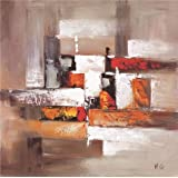 Oil painting 'Painting on Canvas: Abstract Shapes' printing on Perfect effect Canvas , 12x12 inch / 30x31 cm ,the best Home Theater artwork and Home decoration and Gifts is this High Definition Art Decorative Canvas Prints