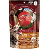 Purina One True Instinct Bites With Farm-Raised Chicken Dog Treats (1-BAG) (NET WT 7 OZ) For Sale
