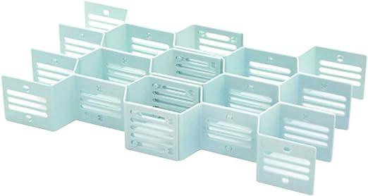 Cabilock Divisor de cajones de Nido de Abeja Organizador de plástico Separador de tablillas para Ropa Interior Calcetines Corbatas Sujetadores Cinturones: Amazon.es: Hogar
