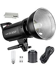 Godox SK300II 300 Monolight with Built-in Godox 2.4G Wireless X System Bowens Mount Strobe Flash for Photography Lighting Portrait Photography