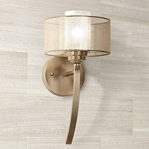 Alecia Modern Wall Lamp French Gold Hardwired 16