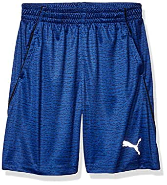 PUMA Boys Boys' Performance Shorts Shorts - Blue - 4