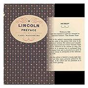 A Lincoln preface de Carl Sandburg