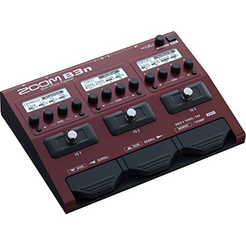 Zoom B3n Multi-Effects Processor for Bassists