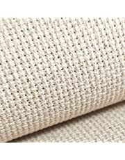 "19"" x 28"" 18CT Counted Cotton Aida Cloth Cross Stitch Fabric"