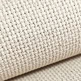 "59""x one Yard 18 Ct Counted Cotton Aida Cloth Cross Stitch Fabric"