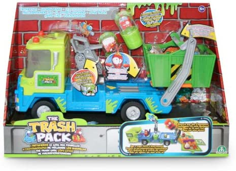 Trash Pack S4 Los Basurillas - Camión de chatarra con basurillas, 34 x 11 x 23 cm (Giochi Preziosi 68107)