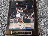 OSCAR ROBERTSON Signed 8x10 Basketball Photo on Plaque -Lifetime Guaranteed Authentic