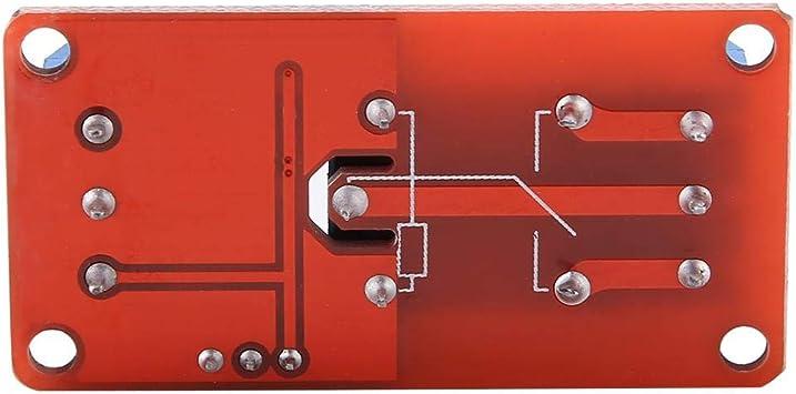Tablero del módulo de relé optoacoplador, módulo de disparo alto y bajo del módulo de relé 5V / 12V / 24V para Arduino(5V): Amazon.es: Bricolaje y herramientas