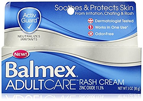 Balmex Adult Care Rash Cream 3 Oz (3 Pack)