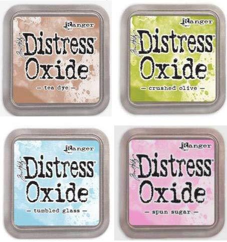 Tim Holtz Ranger Distress Oxide Ink Bundle H - Four 3