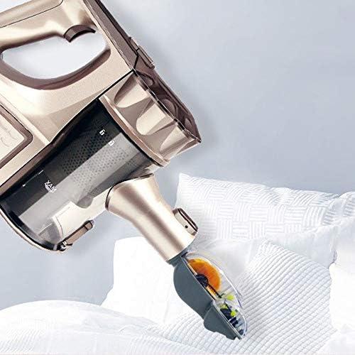 LQPOUXCQ aspirateur balai Canister Aspirateur, Portable 2 en 1 poche sans fil Aspirateur Cyclone Filtre Aspirateur maison de petite puissance