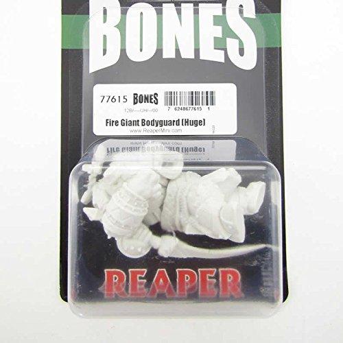 Huge 77615 Bones Unpainted Plastic Mini SG/_B07C4XRF53/_US Reaper Miniatures Fire Giant Bodyguard