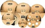 "Meinl Cymbals CC4680-DB Classics Custom Pack Double Bonus Cymbal Box Set with FREE 10"" Splash and FREE 16"" Trash Crash (VIDEO)"