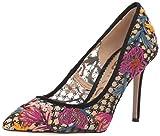 Sam Edelman Women's Hazel Pump, Bright Multi Floral Chintz lace, 7 M US