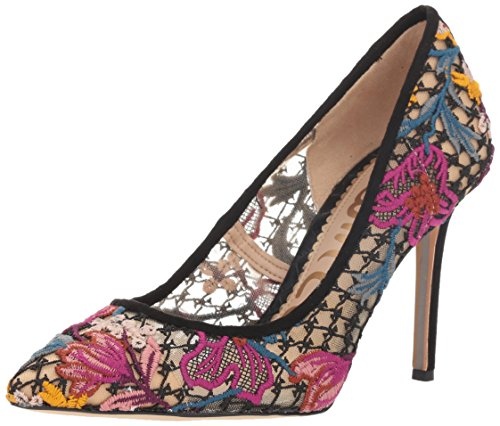 Sam Edelman Women's Hazel Pump, Bright Multi Floral Chintz lace, 9 M US ()