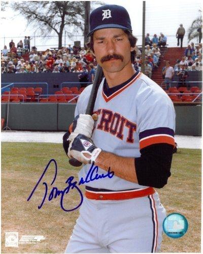 (Tom Brookens Autographed Detroit Tigers 8x10 Photo #1 )