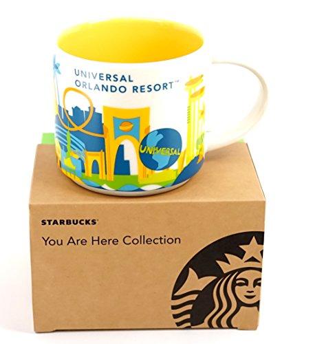 Universal Studios Orlando 2016 Starbucks YAH You Are Here