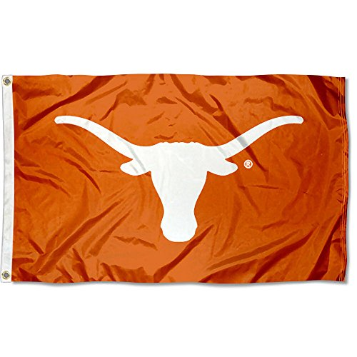 Texas Longhorns UT University Large College Flag