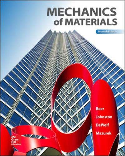 Mechanics of Materials, 7th Edition