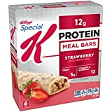 Kellogg's Special K Protein Meal Bars, Strawberry, 6 Count Box