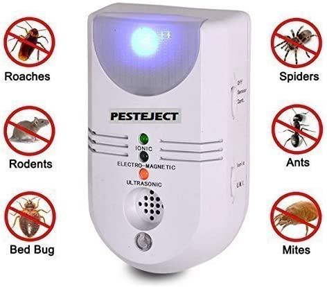 PestEject Súper 6 en 1 Electromagnetico Ultrasónico Interior ...