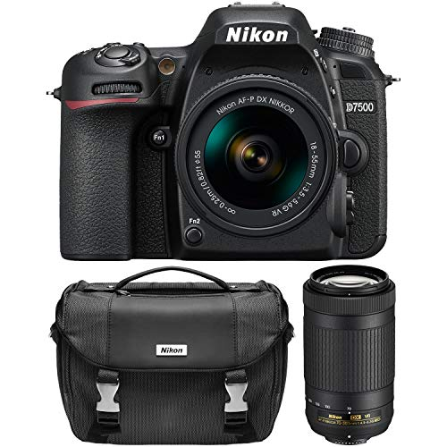 Nikon D7500 Dual Zoom Lens kit (The Best Dslr Camera 2019)
