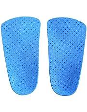 Plantillas Ortopédicos Soporte de Arco Corrector Pie Zapatos de inserción de Media Longitud Talones ortopédicas