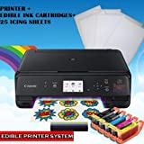 Edible Photo Cake Printer Bundle: Latest Canon Wireless Image Printer + Edible Ink